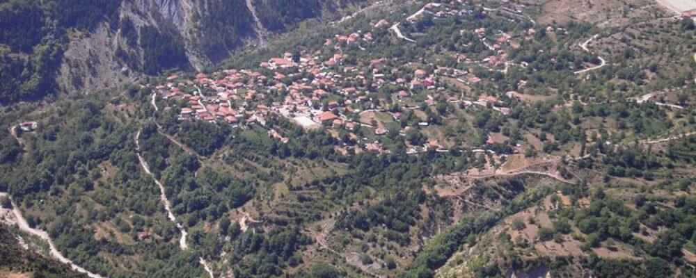 Θεοδώριανα από ψηλά: χωριό σαν παραμύθι.