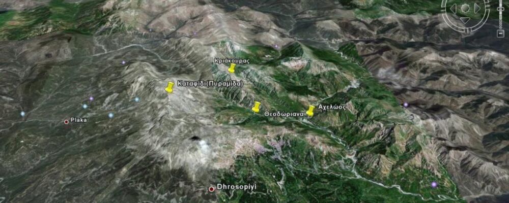 Δορυφορικές φωτογραφίες(κλικ για μεγέθυνση)