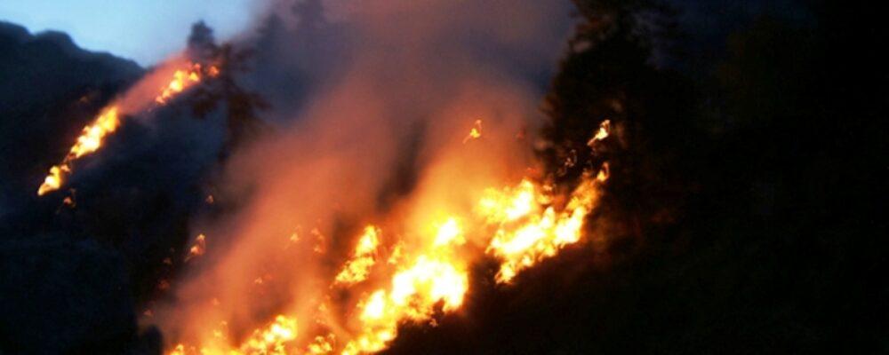 Πυρκαγιά και στα Θεοδώριανα.