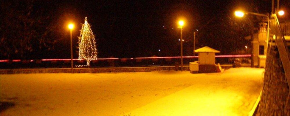 Ποδαρικό…με χιόνι το 2008.