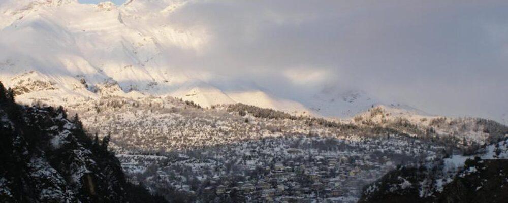 Εικόνες από το χωριό την Πρωτοχρονιά το 2012