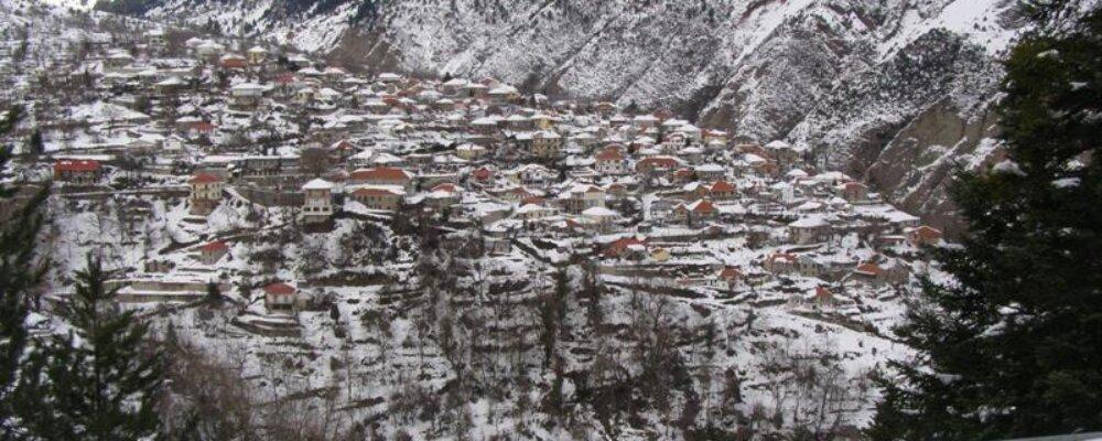 Πρωτοχρονιάτικες εικόνες από το χωριό.