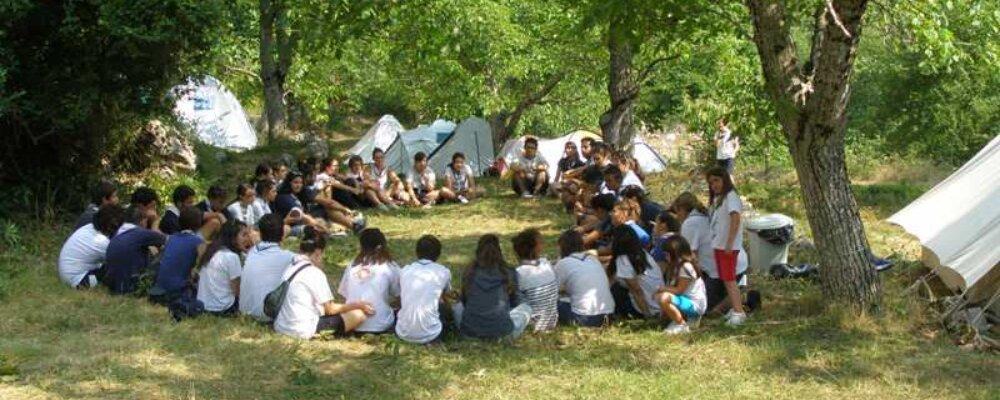 Στήθηκε η κατασκήνωση του Σώματος Ελληνικού Οδηγισμού στα Θεοδώριανα.