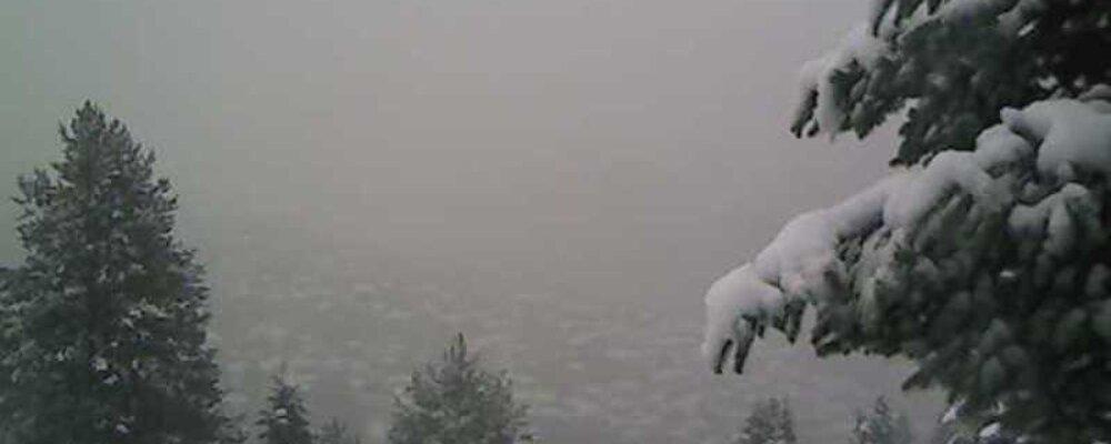 Βίντεο: Χιονόπτωση στα Θεοδώριανα