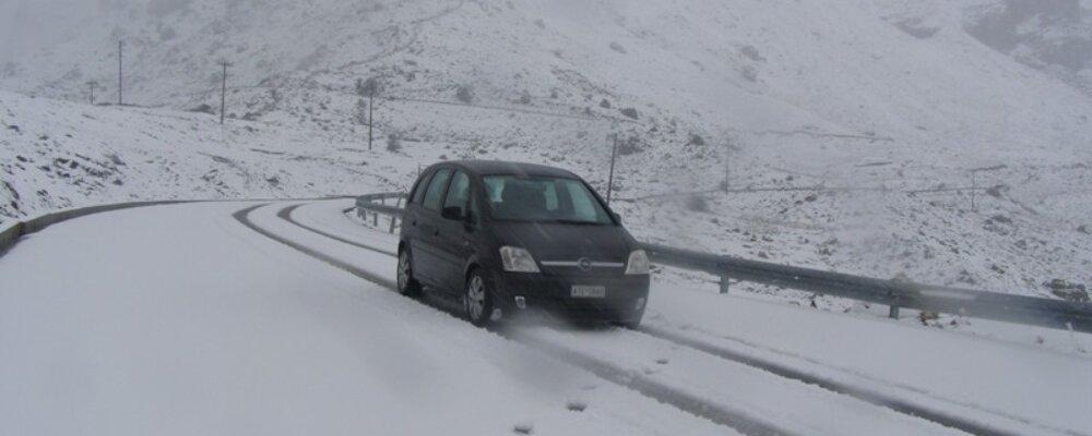 Χιονισμένο Πάσχα στα Θεοδώριανα.